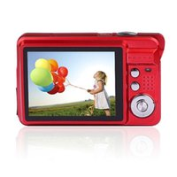 Wholesale 2015 Hot Sale MP Inch TFT LCD Digital Video Recorder X Digital Zoom Camera DC Silver And Red Happy
