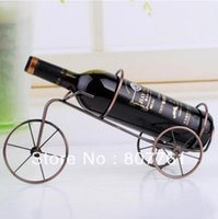 bicycles tricycles - 1 piece tricycle bicycle style Wine rack wine holder portable wine decoration Xmas gift