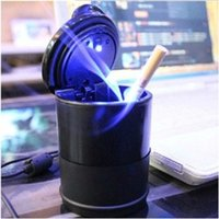Wholesale large GM car factory load supplies creative personality ashtray lid Cruze led night light