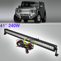pick up truck - 41 Inch W Offroad LED Light Bar Spot Flood Combo Beam SUV WD ATV AWD x4 UTE Pick up Car Truck Bumper Driving Lamp Headlight