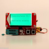 Wholesale PCB Made Diode Thyristor Cap Test LCD Display Transistor Test Meter w Two button