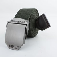 canvas belts - Nos male the trend of casual all match canvas belt