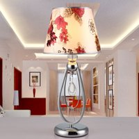 Wholesale 2015 New modern minimalist fashion creative Continental luxury crystal table lamp table lamp bedroom bedside lamp