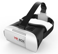 Wholesale VR Box D Virtual Reality VR Glasses Google Cardboard rift d movies and Games for quot quot Smart Phone