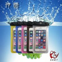 best test cases - Best Quality iPhone s Plus Phone Universal Waterproof Case PX8 Waterproff Test with Storage Bag Retail Selling