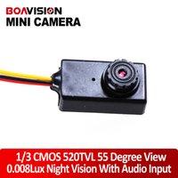 Wholesale super mini camera TVL high resolution Lux night vision Video and Audio Mini Hidden Camera