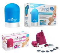 Wholesale 2015 Pedi Pro PediPro Deluxe Pedicure Pedi Foot File Hard Skin Remover Kit Set DHL