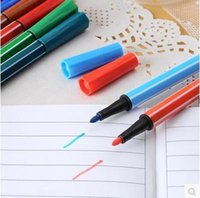 Wholesale 18 colors water color marker pen for children washable watercolor markers set school stationery drawing tools ARC713