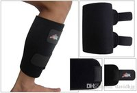 basketball shin pad - Sports basketball football soccer protective shin guard pad support protector shinguard greaves leggings