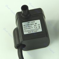 ac submersible water pump - AC V W Aquarium Fountain Submersible Water Pump Fish Pond Air Pump US Plug