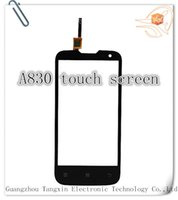 Wholesale Touchscreen Panel Digitizer Lenovo A830 Touch Screen Display Replacement For external Lenovo A830 touchscreen