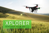 Wholesale Zero Explorer Xplorer Vision FPV G HD MP Camera RC Quadcopter Neq Arrival Camera Drones