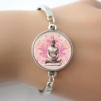 inspirational jewelry - Buddha Bracelet Buddha Pendant Bangle Buddha Jewelry Inspirational Faith Jewelry For People Gift pc