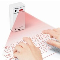 Claviers infrarouges Prix-Cheap Price Virtual Laser Keyboard Rouge Infrarouge Bluetooth via usb pour iPad, tablette, téléphone portable, ordinateur portable, ordinateur via usb bluetooth connection
