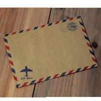Wholesale Brown Airmail Envelopes x17 cm