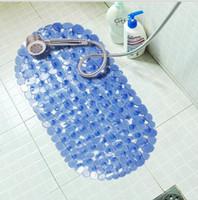 Wholesale 30Pcs Fashion rubber dot bath mats massage bath mat slip resistant pad bath mat bathroom suction cup Y30211