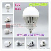 Wholesale DHL Free Shiping W E27 B22 AC160V V SMD LED Lamp White Warm White Energy Saving Light Global LED Bulb Lamps