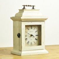 antique wood finishes - Fashion american markor furnishings vintage retro finishing wood home decoration clock decoratiive wood table clock