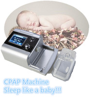 Wholesale High Quality Silver shell with TFT Screen Portable Auto CPAP Machine For Sleep Apnea