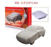 Wholesale HOT silver color Car Covers super promotion price Dustproof Resist snow L size universal suit