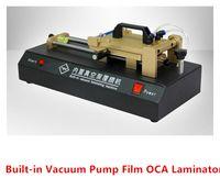Wholesale Built in Vacuum Pump OCA Film Laminator Laminating Machine for Max Inch Smart Phone Mobile Phone Glass LCD Touch Screen Repairing Tools