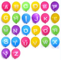 balloons retail - Retail Colorful Letter Balloon Full Alphabet Large English Letters A to Z For Christmas Party Wedding Decoration inch