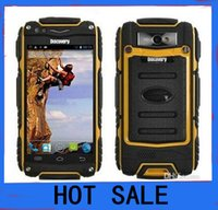 waterproof cell phone - HOT discovery v8 phone Waterproof Cell Phone Quad Core MTK6582 G GPS inch Screen GHZ MP Dustproof Shockproof Outdoor Phone
