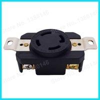 Wholesale 4 Prong AMP V NEMA L14 R Receptacle Twist Lock Socket order lt no track