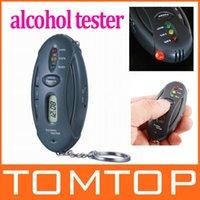 Wholesale Digital LCD Alcohol Tester Analyzer Breath Breathalyzer H17 freeshipping dropshipping