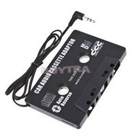 Wholesale car dvd New FOR MP3 CD MD DVD For Clear Sound Music Car Cassette Tape Adapter drop shipping
