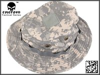 acu boonie hat - EMERSON Boonie Hat Military Tactical Army Hat Anti scrape Grid Fabric camouflage hat EM8541 ACU