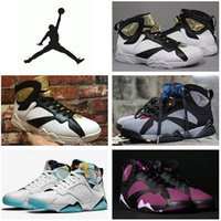 aj7 - Nike dan Retro Basketball Shoes Men Women Original Sneakers Cheap AJ7 Jordan VII Boots Champagne Size