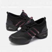 ballroom dancers shoes - Soft Jazz Sports Shoes for Dancer Fashion Casual Outdoor Sneakers Autumn Tap Dance Shoes for Women