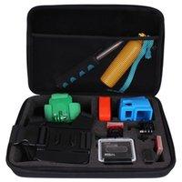 Wholesale 2015 New Shockproof Lightweight EVA Protective Hard Case Bag for Gopro HD Hero Sport Camera L M S Black