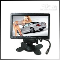 monitor stand - 7 quot TFT LCD Headrest Stand Color Car Monitor Rearview DVD VCR