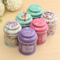 Wholesale Butterfly Knot And Line Drawing Style Kitchen Tea Sugar Coffee Storage Tin Box Portable Suitable For Travel Pack cm