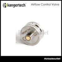 Wholesale Huge Stock Kanger Replacement Airflow Control Base Airflow Control Valve for Subtank Plus Subtank Mini Bottom Control Valve Authentic