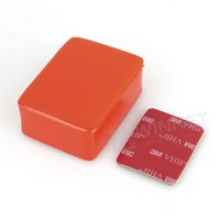 Wholesale New HOt Floaty Box with M Adhesive for GoPro Orange