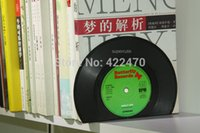 Wholesale Vinyl Coasters Record Drinks Mats Music Classic Retro Novelty Bookends Lp Gift