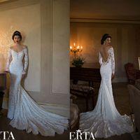 Cheap Mermaid Wedding Dress Best Berta Lace Wedding Gowns