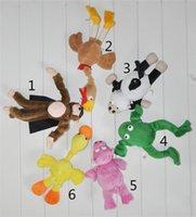 Wholesale Plush Toys Fashion Children Cute Animal Model and Slingshot Monkey Toys Hot Kids Soft and Safety Refer Set Flying Monkey Stuffed Animals