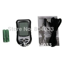 Wholesale 4x Portable in Multi function Digital LCD Camping Altimeter Compass Barometer Thermometer Altitude Meter Height Gauge Clock