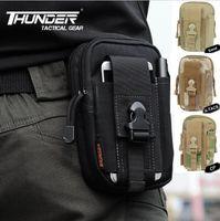 Men animal print stuff - High Quality D30 Tactical Molle Waist Bags Mens Outdoor Sport Casual Waist Pack Purse Mobile Phone Case for SAMSUNG Note D CORDUR