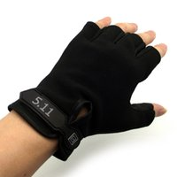 athlete wear - Time limited Real Adult Winter Gloves Mittens Athletes Wear Half Cycle Fingerless Gloves Men Touch Screen Fitness Non slip