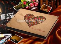 Wholesale 1509 inch New Photo Album Wedding Photos Children Family Memory Record Scrapbooking Album Sticky Type Lovers Birthday Gift