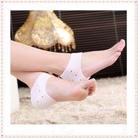 Wholesale Topseller Pair Massage gel socks Silicone Moisturizing gel Heel socks Like Cracked Foot Skin Care Protector beauty acupuntura order lt no