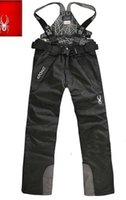 Wholesale 2106 men outdoor waterproof windproof breathable winter snowboard coat ski pant