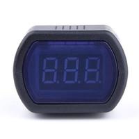 Wholesale car voltage meter LED Display car tool Mini