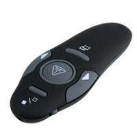 Wholesale New Multifunction Wireless Presenter with Red Laser Pointers Pen USB PPT Presentation Remote Control