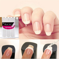 Wholesale Hot Sale Tips Guide Nail Sticker French Manicure Nail Art Form Fringe Guides Sticker DIY Stencil